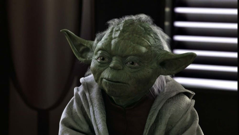 20 Powerful Yoda quotes on Patience, leadership, and fear.