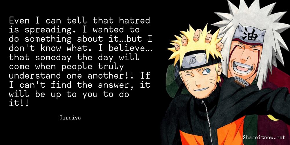 Jiraiya quotes