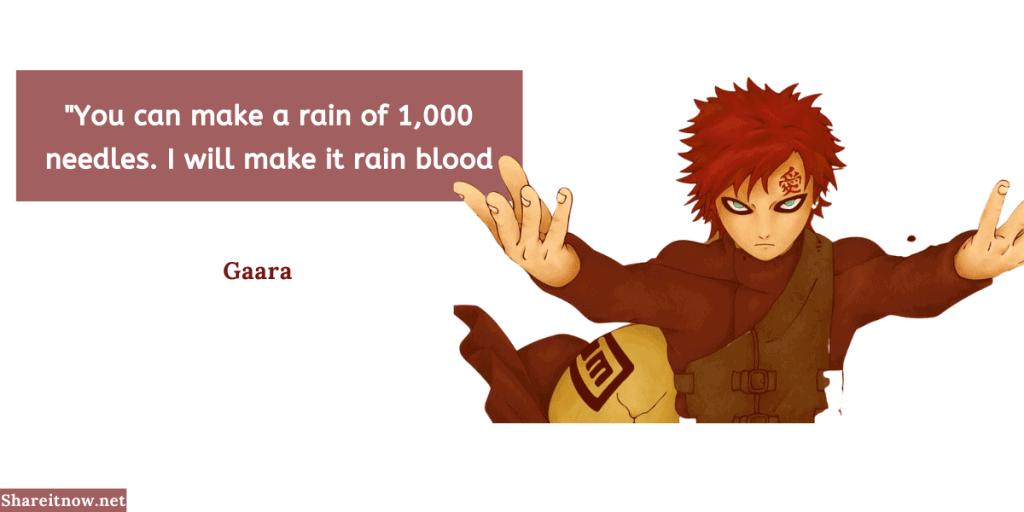 Gaara quotes