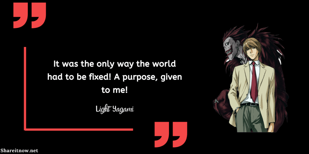 light yagami quotes