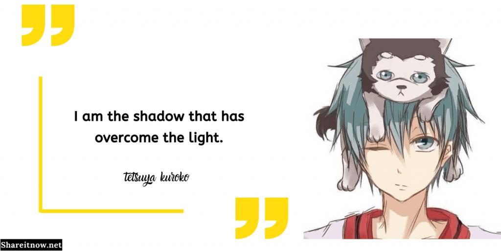 tetsuya kuroko quotes